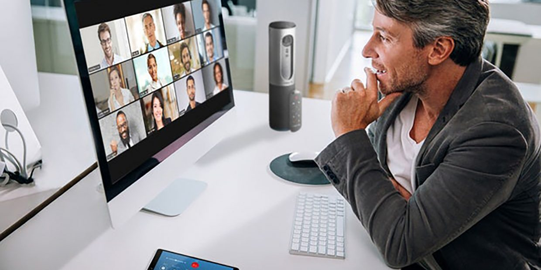 Symbolbild-Videokonferenz